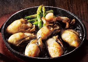 牡蠣ステーキ