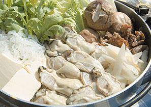 漁師風 牡蠣のすき焼き